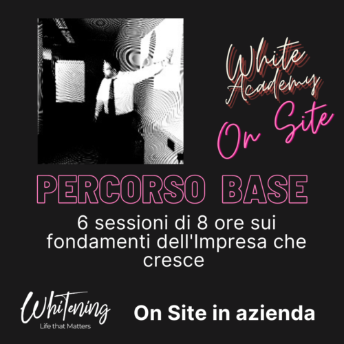 White Academy Base - Percorso Completo OnSite